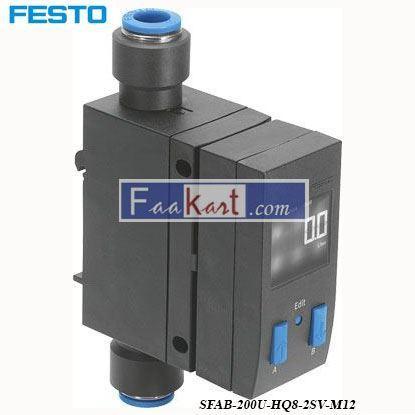 Picture of SFAB-200U-HQ8-2SV-M12 FESTO  flow sensor