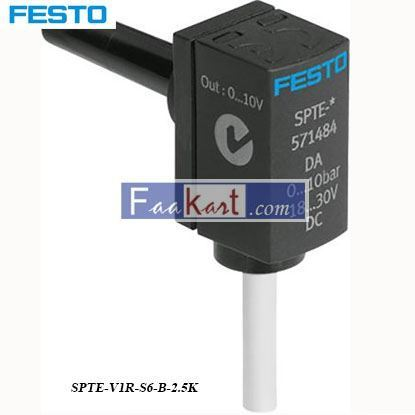 Picture of SPTE-V1R-S6-B-2  FESTO pressure transmitter