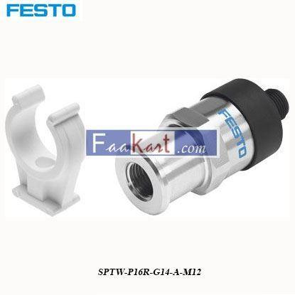 Picture of SPTW-P16R-G14-A-M12  Festo Pneumatic Sensor