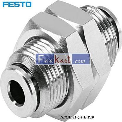 Picture of NPQH-H-Q4-E-P10  Festo Pneumatic Bulkhead
