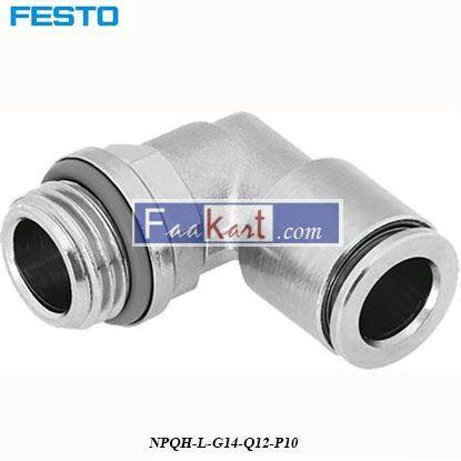 Picture of NPQH-L-G14-Q12-P10  FESTO Elbow Connector