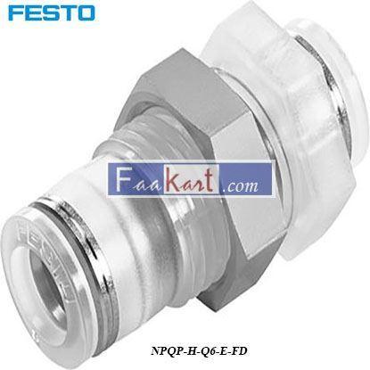 Picture of NPQP-H-Q6-E-FD  Festo Pneumatic Bulkhead