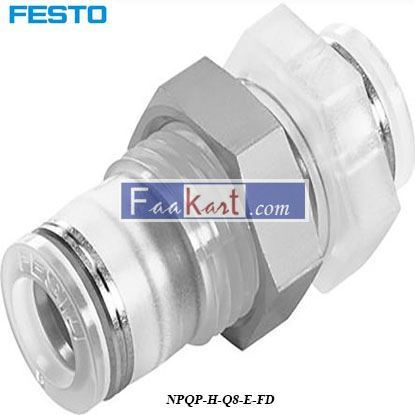 Picture of NPQP-H-Q8-E-FD  Festo Pneumatic Bulkhead