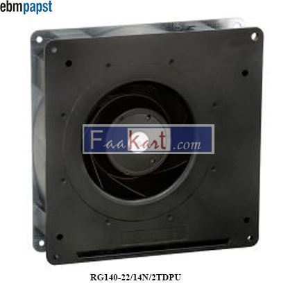 Picture of RG140-22/14N/2TDPU EBM-PAPST DC Axial fan