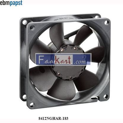 Picture of 8412NGHAR-183  EBM-PAPST DC Axial fan