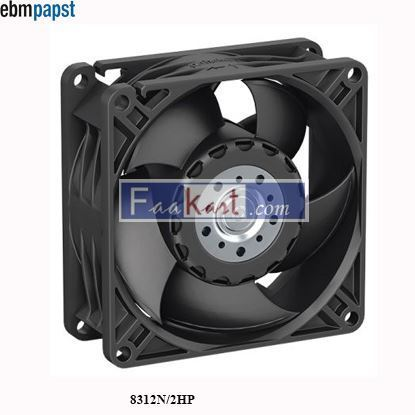 Picture of 8312N/2HP EBM-PAPST DC Axial fan