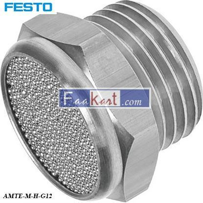 Picture of AMTE-M-H-G12  FESTO Pneumatic Silencer