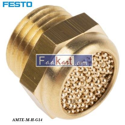 Picture of AMTE-M-H-G14  FESTO Pneumatic Silencer