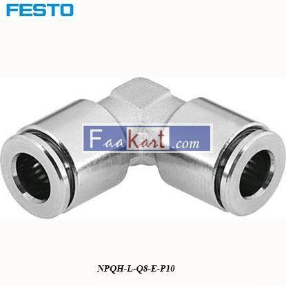 Picture of NPQH-L-Q8-E-P10  Festo Pneumatic Elbow Tube