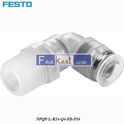 Picture of NPQP-L-R14-Q4-FD-P10  Festo Pneumatic Tee Tube Adapter