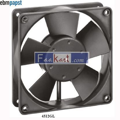 Picture of 4312GL EBM-PAPST DC Axial fan
