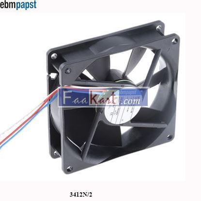 Picture of 3412N/2 EBM-PAPST DC Axial fan