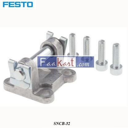 Picture of SNCB-32  FESTO Coated Aluminium Swivel Flange