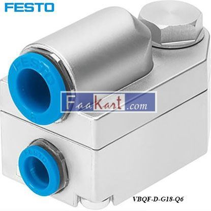 Picture of VBQF-D-G18-Q6  Festo Quick Exhaust Valve