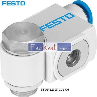 Picture of VFOF-LE-H-G14-Q8  Festo VFOF Series Flow Controller